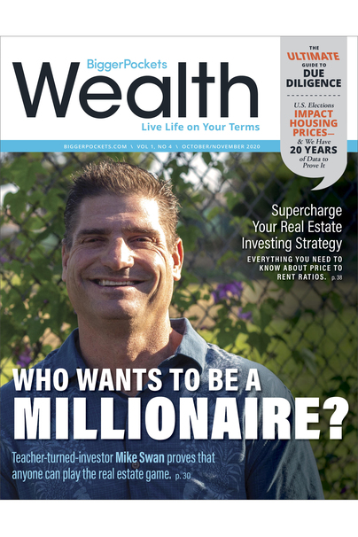BiggerPockets Wealth Magazine book cover