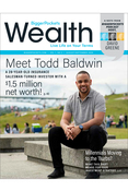 Wealth Magazine One Year cover