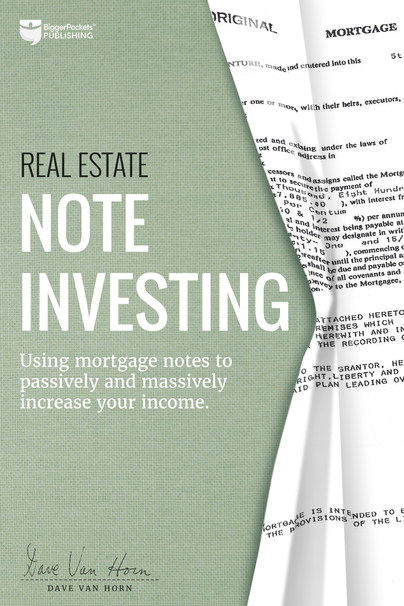 Real Estate Note Investing book cover