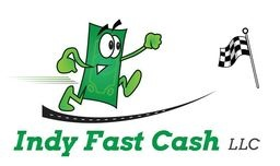 Large new indy fast cash logo white