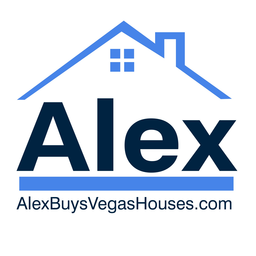 Large we buys houses las vegas logo