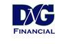 Medium dng financial logo blue