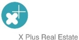 Large x plus real estate logo jpeg