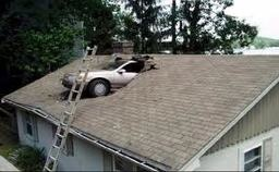 Large car roof