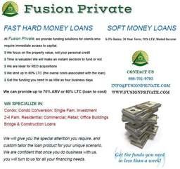 Large fusion loan programs