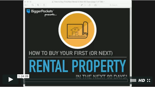 How to buy your first  or next  rental property in 90 days or less