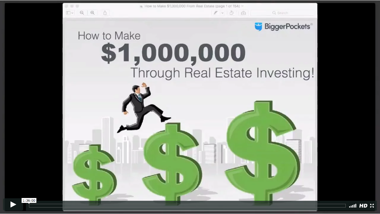 How to make  1 000 000 through real estate investing