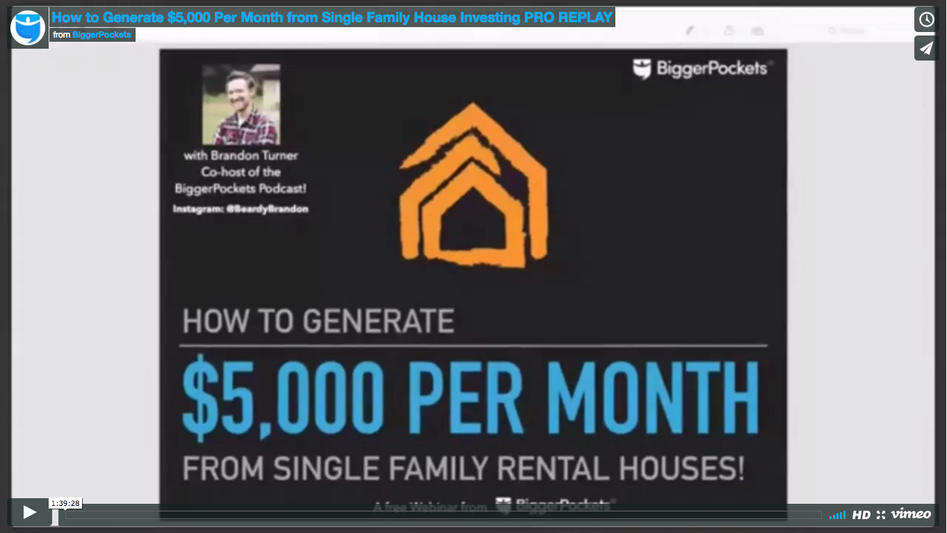 How to generate  5 000 per month from single family house investing