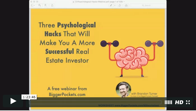 Three psychological hacks that will make you a more successful real estate investor in 2016