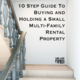 Pdf preview 10 step guide to buying and holding a small multi family rental property