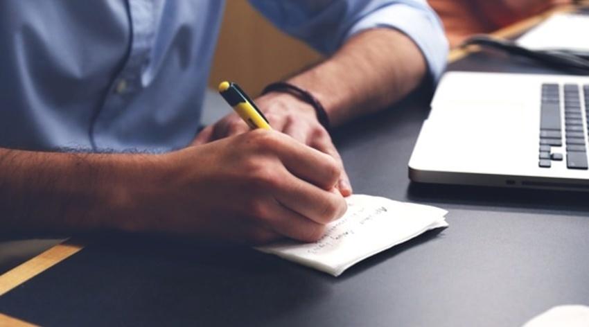 Large writing notes idea conference medium