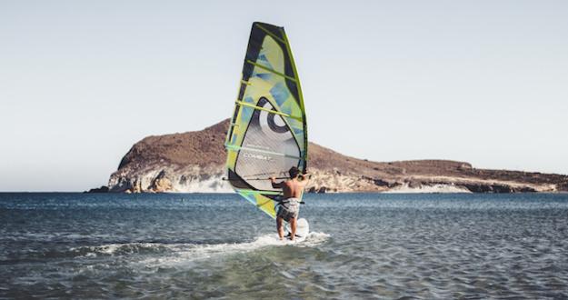 Lead kitesurf