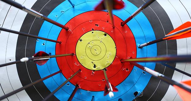 arrows miss target