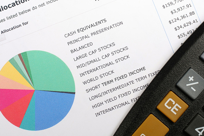 Investment Allocation Graph and Calculator