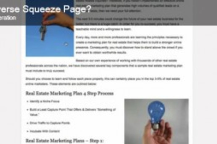 What is the reverse squeeze page?